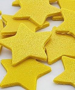 קישוטי עוגות בצורת כוכבים