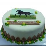 עוגה לילדה שאוהבת סוסים