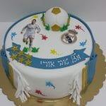 עוגה עם סמל ריאל מדריד
