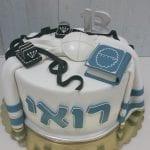 עוגה לבר מצווה מעוצבת