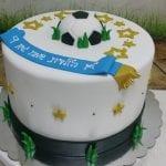 עוגה לילד שאוהב כדורגל