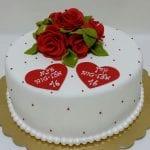 עוגה אלגנטית לנערות