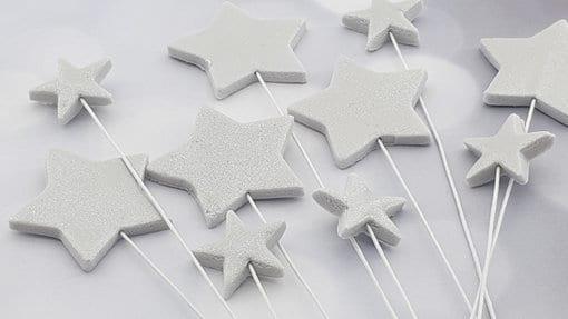 כוכבים מבצק סוכר