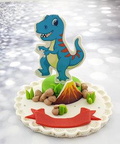 טופר לעוגה דרקון אכיל