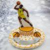 טופר לעוגה שחקן כדורסל