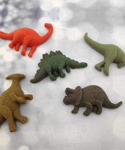 קישוטים לעוגה הטבעות דינוזאורים מבצק סוכר אכיל