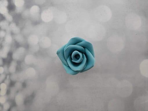 ורד אכיל לעוגה מבצק סוכר